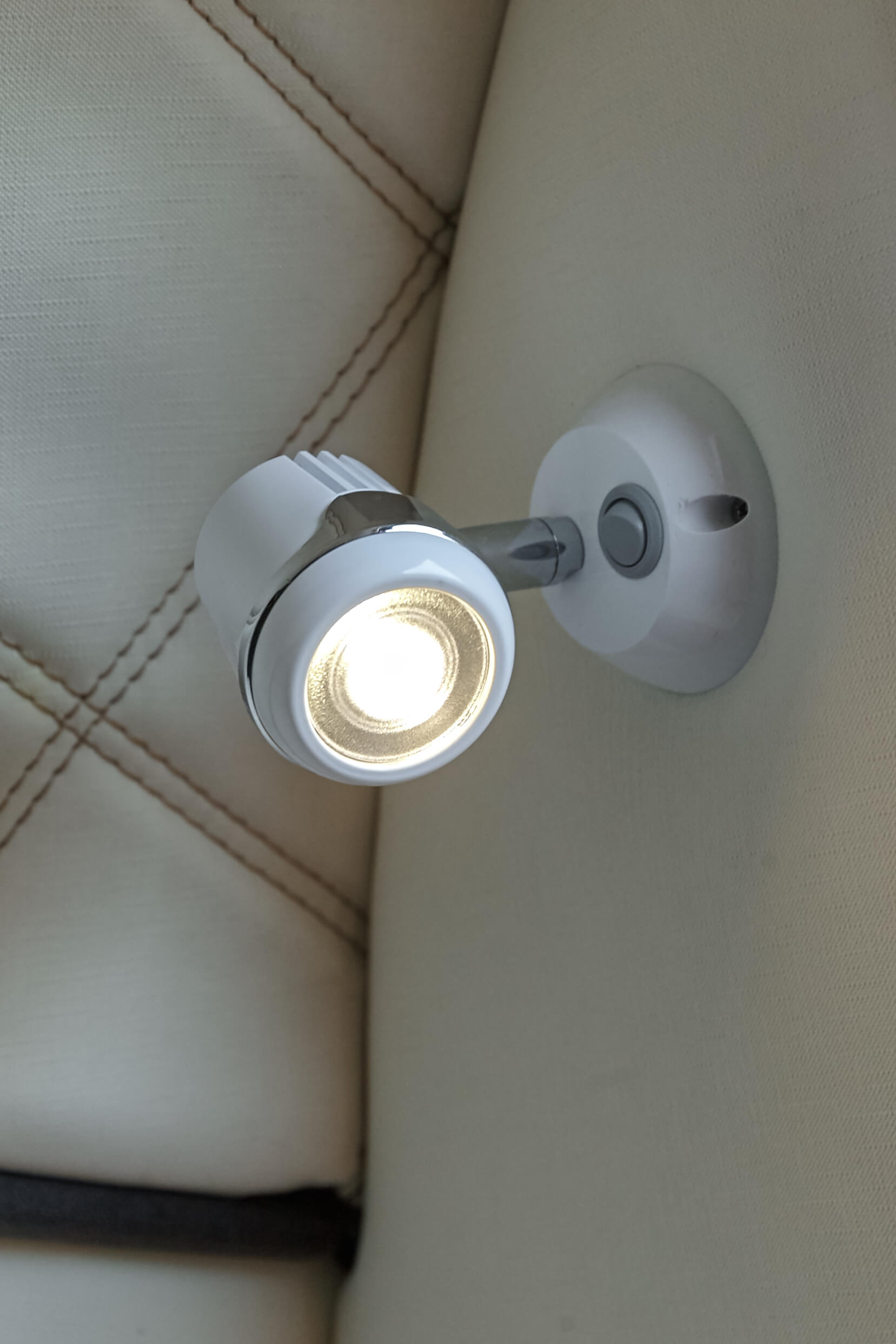 Lamp with a switch