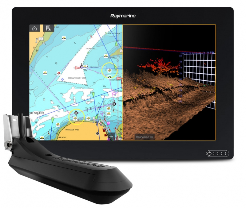 Картплоттер AXIOM 12 RV с картами Navionics GOLD 52XG