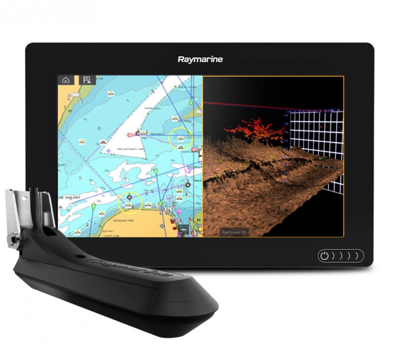 Картплоттер AXIOM 9 RV с картами Navionics GOLD 52XG
